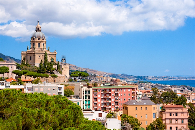 Road trip Messina, Italien